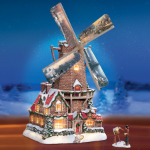 Thomas Kinkade Windmill Musical Figurine