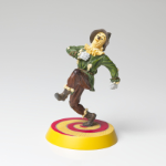 Wizard of Oz Scarecrow Figurine on Yellow Brick Road