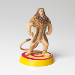 Wizard of Oz Cowardly Lion Figurine on Yellow Brick Road