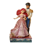 Jim Shore Ariel and Prince Dancing Figurine