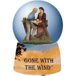 Gone with the Wind Ashley & Scarlet Water Globe