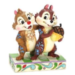 Jim Shore Chip and Dale Figurine