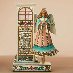 Jim Shore Angel Prayer Message Figurine