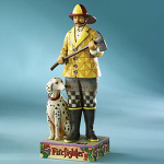 Jim Shore Fire Fighter Figurine