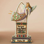 Jim Shore Flying Angel Psalm Figurine