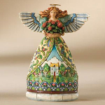 Jim Shore Summer Mini Angel Figurine