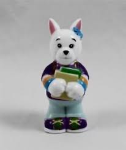 Webkinz School Time Terrier Figurine