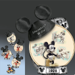 Mickey Mouse Steamboat Willie Collector Plate