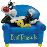 Sylvester and Tweety Musical Figurine