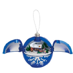Mr. Christmas Hidden Sleigh Musical Ornament
