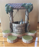 Jim Shore Snow White Wishing Well Base