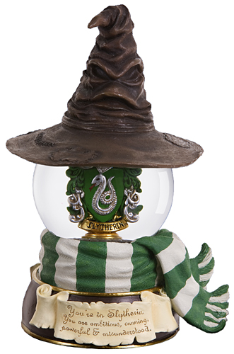 harry potter u0026 39 s musical waterglobe  u0026quot slitherin sorting hat