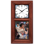 Elvis Presley For All Time Wall Clock