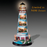 Thomas Kinkade Masterpiece Lighthouse