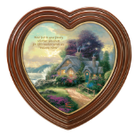 "Thomas Kinkade ""Home Is Where The Heart Is"" Framed Art"