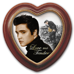 "Elvis Presley ""Love Me Tender"" framed Canvas Print"
