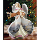 "Thomas Kinkade "" Angel of Love"" figurine"