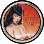 "Olivia Bettie Page 12"" Wall Clock"