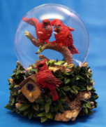 Cardinals 100MM Water Globe