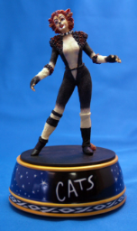"Cats Musical Figurine ""Jeminma"""