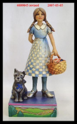 "Jim Shore ""Dorothy and Toto Figurine"