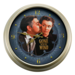 "Gone With The Wind ""The Kiss"" Wall Clock"