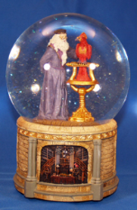 "Harry Potter ""Dumbledore with Phoenix Water Globe"