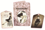 Audrey Hepburn 3 Piece Travel Set
