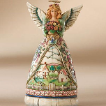 Jim Shore Spring Mini Angel Figurine