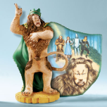 "Wizard of Oz "" King of the Forest"" Collector Plate"