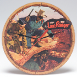 The Lone Ranger Small Wall Clock