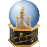 Marilyn Monroe in Gold Dress 65mm Water Globe
