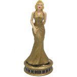 Marilyn Monroe in Gold Dress Figurine