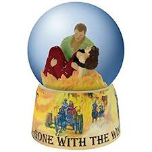 Gone With Wind Rhet & Scarlet Water Globe