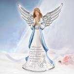 If Tears Could Build A Stairway Musical Angel Figurine