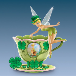 Tinker Bell's Green Teacup Figurine