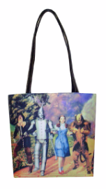 Wizard Of Oz Yellow Brick Road Tall Handbag