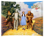 Wizard Of Oz Yellow Brick Road Crystal Glass Print