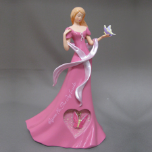 "Breast Cancer Awareness, ""Rejoice for the Joy Inside"" Figurine"