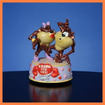 "Taz ""Kiss Me You Fool"" Musical Figurine"