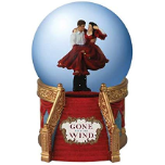 Rhet and Scarlet on Stairs Water Globe