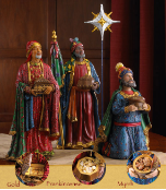 Three Kings Following The Star Standard Gift Set